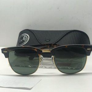 New rayban Club Master Tortoise/Gold RB3016 W036
